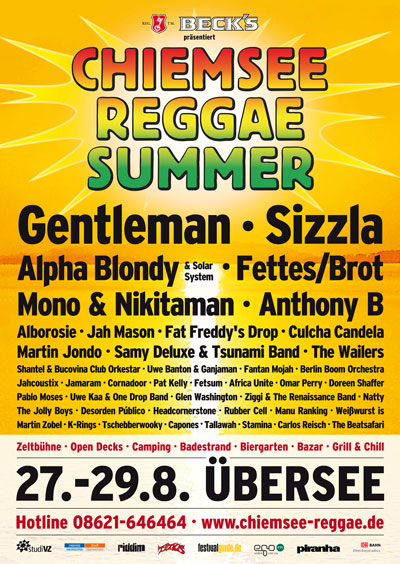 1 2 chiemsee reggae summer tickets zu gewinnen zeig uns dein festival outfit. Black Bedroom Furniture Sets. Home Design Ideas