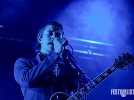 Interpol sind der bisherige Höhepunkt im sonntäglichen Rock Werchter Livestreaming Programm.