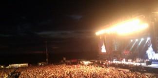 Rock am Ring bei Nacht. Bild: Festivalisten
