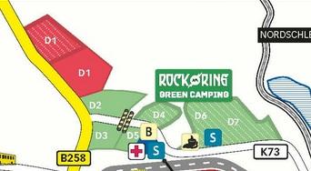 Zurückgerudert Rock Am Ring Greencamping Flächen Verkleinert