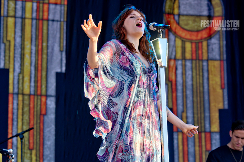 Florence and The Machine am Southside 2012, Foto: Thomas Peter