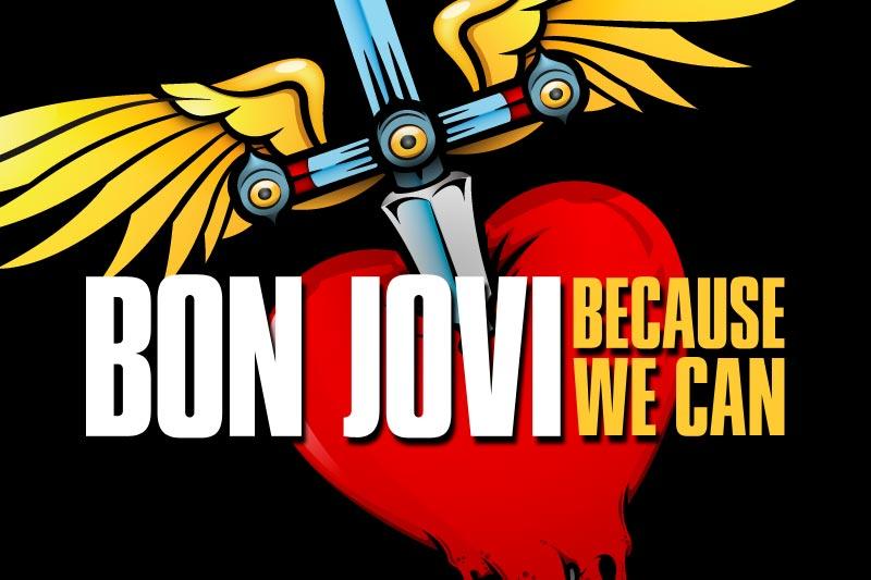 Bon Jovi: Vier deutsche Konzerte im Rahmen der Because We Can Tour ...