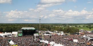 Pilgerstätte für nicht weniger als 73.000 Musikbegeisterte: der Eichenring zu Scheeßel.