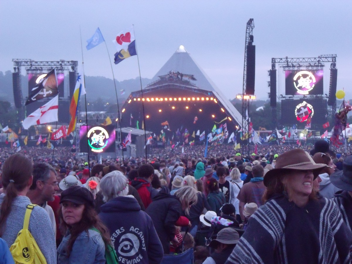 Glastonbury Impression, Foto: Lisa Reber für Festivalisten