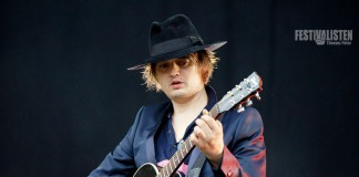 Pete Doherty, Tiel von The Libertines, Foto: Thomas Peter