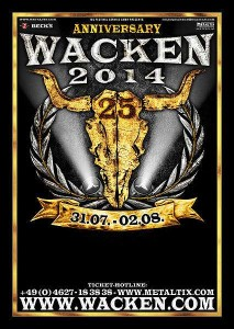 Jubiläumslogo, Quelle: Wacken Open Air