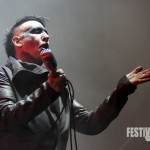 Marilyn Manson bei Rock im Park 2015, Foto: Thomas Peter