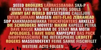 Open Flair 2014 - Lineup Stand Mitte März
