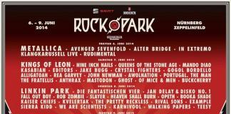 Tagesverteilung Rock im Park 2014 – Stand 21.03.2014, Quelle: MLK