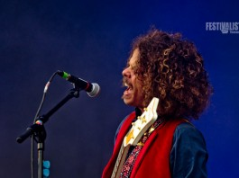 Wolfmother bei ihrer Show am Southside 2012