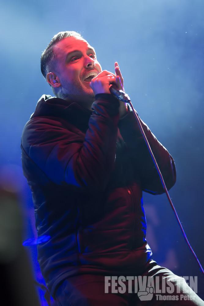 Nathan Gray von Boysetsfire beim Groezrock 2014, Foto: Thomas Peter