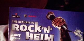 RockNHeim 2014 - dieser Flyer verrät weitere Teilnehmer