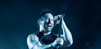Nine Inch Nails Trent Reznor bei Rock im Park 2014, Foto: Thomas Peter