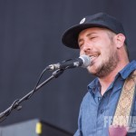Zachary Scott Carothers von Portugal. The Man bei Rock im Park 2014, Foto: Thomas Peter