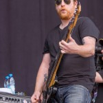Barry Wallace von The Fratellis bei Rock im Park 2014, Foto: Thomas Peter