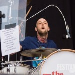 Gordon McRory von The Fratellis bei Rock im Park 2014