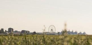 Southside Festival 2014 aus der Ferne, Foto: Thomas Peter