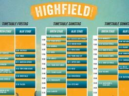 Der Highfield 2014 Zeitplan hält kaum böse Überraschungen bereit, Bildquelle: FKP Scorpio/Highfield