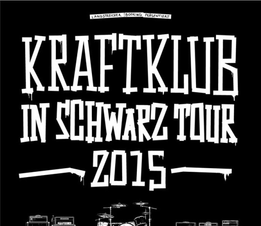 Kraftklub In Schwarz Tour 2015, Quelle: Band