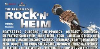 RockNHeim 2014 auch mit Donots, Broilers, Frittenbude, Egotronic und Sondaschule, Bild: MLK/RockNHeim