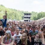 Zuschauer beim SDP Konzert beim Taubertal Festival 2014, Foto: Thomas Peter
