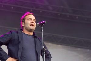Bosse beim Highfield Festival 2014, Foto: Thomas Peter