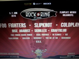 Rock am Ring 2015 mit Foo Fighters, Slipknot und Coldplay? Bildquelle: Facebook/Daniel Kraft