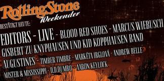 Rolling Stone Weekender 2014 auch mit Editors, Live, Marcus Wiebusch und Gisbert zu Knyphausen, Quelle: FKP Scorpio