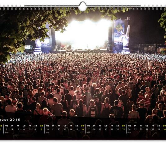Den Festivalisten Kalender 2015 gibts nur für ein paar Tage, Foto: Steffen Neumeister