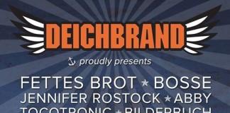 Deichbrand 2015, erste Welle; Quelle: Facebook.com/Deichbrand