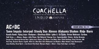 AC/DC, Jack White und Drake führen das Lineup des Coachella 2015 an, Bild: Festival