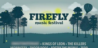 Firefly 2015 Lineup mit Kings Of Leon, The Killers. Morrissey, Bildquelle: Festival