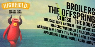 Broilers und The Offspring bereichern das Lineup es Highfield 2015, Bildquelle: Festival
