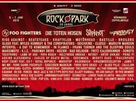 Das Lineup von Rock im Park 2015 im Überblick - Stand: 11.02.2015, Bildquelle: Festival