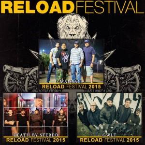 Neu fürs Reload 2015 vestätigt sind Madball, Death By Stereo und GWLT, Bildquelle: Reload Festival