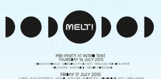 Die Melt! 2015 Tagesverteilung, Quelle: Melt! Festival GmbH & Co. KG