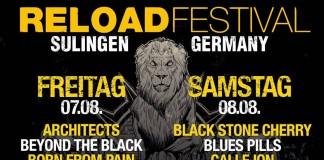 Reload 2015 Tagesverteilung, Bildquelle: Festival