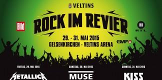 Rock im Revier 2015 Tagesverteilung, Bildquelle: DEAG/Rock im Revier