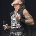 Mark Tornillo von Accept beim Rockavaria 2015, Foto: Thomas Peter