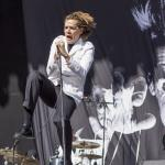 Per Almqvist von The Hives beim Rockavaria 2015, Bild: Thomas Peter