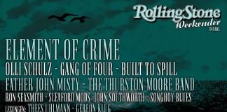 Element Of Crime sind der dickste Fisch der ersten Bandwelle des Rolling Stone Weekender 2015, Bildquelle: FKP Scorpio