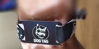 Dog Tag, Downloads Variante eines RFID-Chips zum bargeldlosen Bezahlen, Foto: Twitter
