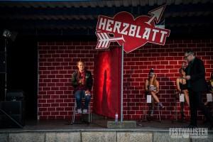 Thees Uhlmann sucht sein Herzblatt beim Kosmonaut 2015, Foto: Steffen Neumeister