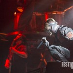Slipknot bei Rock im Park 2015, Foto: Thomas Peter