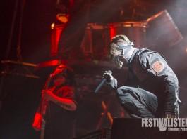Slipknot bei Rock im Park 2015, Foto: Thomas Peter