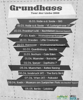 Grundhass Tour 2016