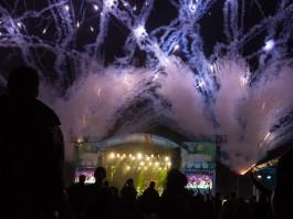 Highfield 2015 Feuerwerk, Foto: Thomas Peter