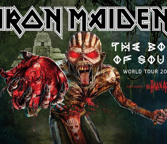 Iron Maiden 2016 - die The Book Of Souls Tour steht im Kalender, Bildquelle: Iron Maiden