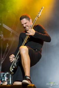 Bassist Anders Kjolholm verlässt Volbeat, Foto: Thomas Peter