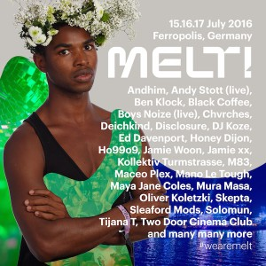 Die erste Bandwelle des Melt! 2016, Quelle: Festival
